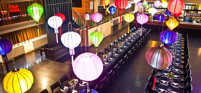 Wedding Catering Chinese Lanterns